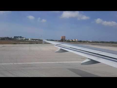 Jetblue A320 takeoff from Aruba