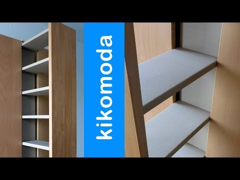 DIY Cardboard Pull Out Cabinet HD (corrugated cardboard furniture)
