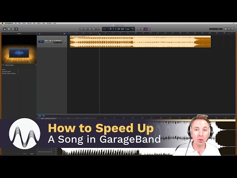 How to Speed up a Song on GarageBand