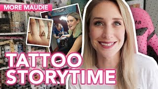 My GEEKY TATTOOS Explained | More Maudie