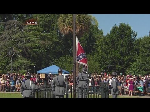 Flag Removed From SC Statehouse