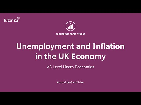 Unemployment and Inflation in the UK Economy
