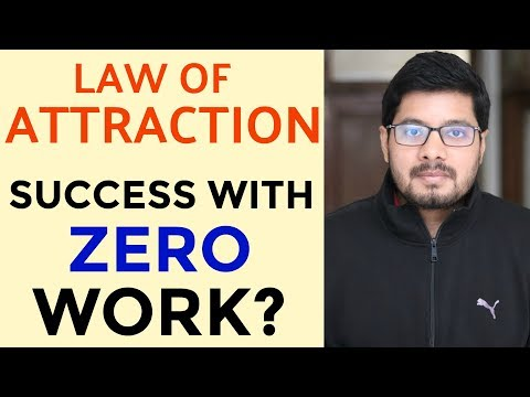 MANIFESTATION #68: Does LAW OF ATTRACTION Work Without Any Action? | How to Use Law of Attraction