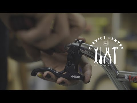 How to fit BMX brake levers - Colony BMX