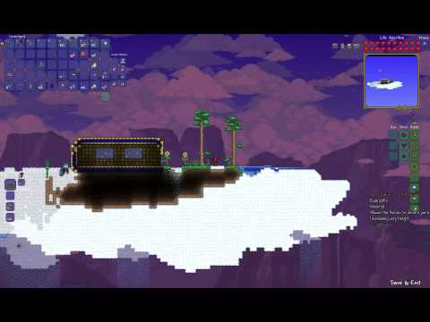 Let's Play Terraria patch 1.2: Flying Carpet
