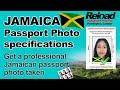 Jamaican Passport Photo & Visa Photos snapped at Reload Internet, Paddington
