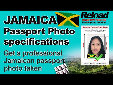 Jamaican Passport Photo & Visa Photos snapped at Reload Internet, Paddington