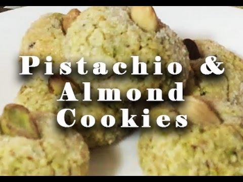 DELICIOUS Pistachio & Almond Cookies