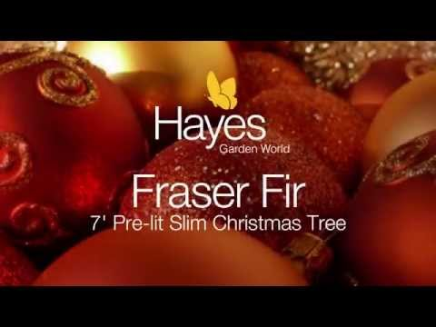 National Tree Fraser Fir 7 ft Pre lit Slim