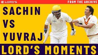 Sachin Tendulkar vs Yuvraj Singh | MCC vs ROW Lord