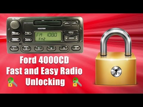 How To Unlock 4000 CD Radio Code/Serial Ford Transit M Code Security Pin