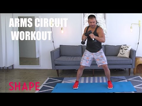 Arms Circuit Workout