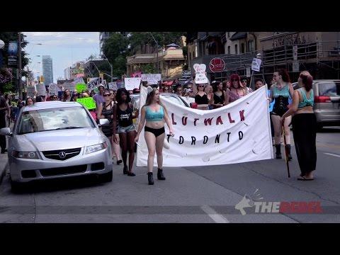 Lauren Southern Goes To Toronto SlutWalk!