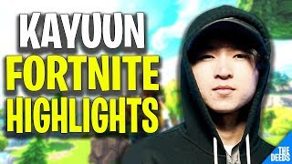 Ghost Kayuun Fortnite Highlights #1 | Mechanical Player