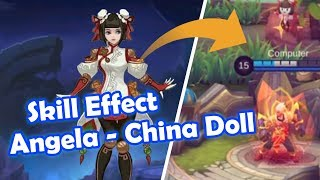 Angela China Doll Mobile Legends Wallpaper