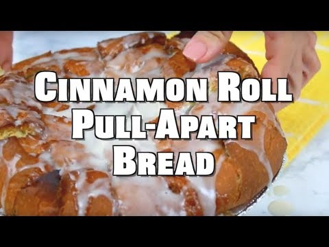 How to make: Easy Cinnamon Roll Pull Apart Bread