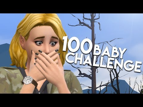 COWPLANT DISASTER // The Sims 4: 100 Baby Challenge #144