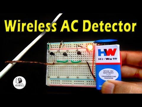 Non contact AC Line and Neutral Detector / Non Contact Voltage Tester DIY
