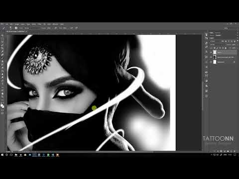 How to use photoshop for tattoo design 02 - TATTOONN