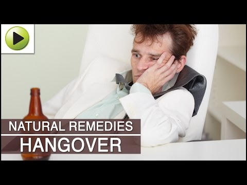 Hangover - Natural Ayurvedic Home Remedies