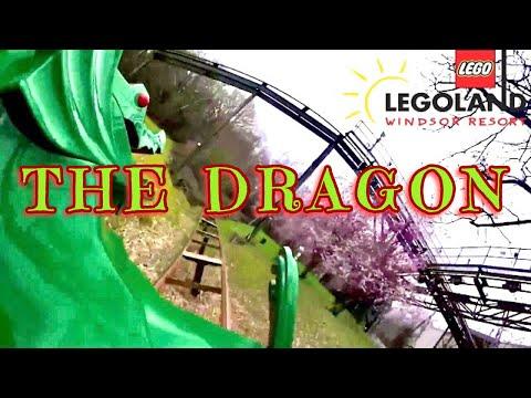 The Dragon Legoland Windsor On Ride POV GoPro 60fps