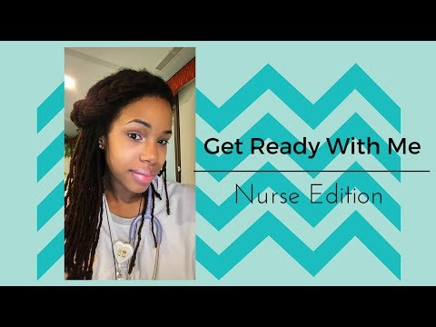 Nurse/Work Get Ready with Me
