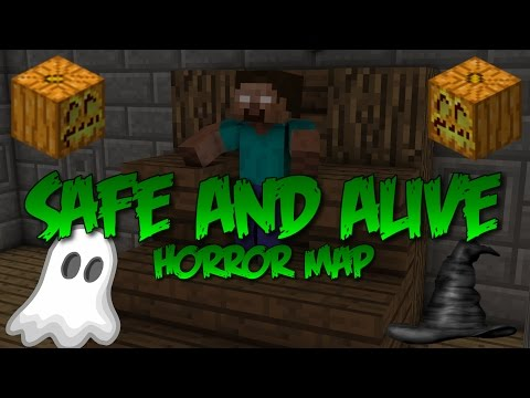 Minecraft Xbox 360: Halloween Modded Map! Safe and Alive!!!