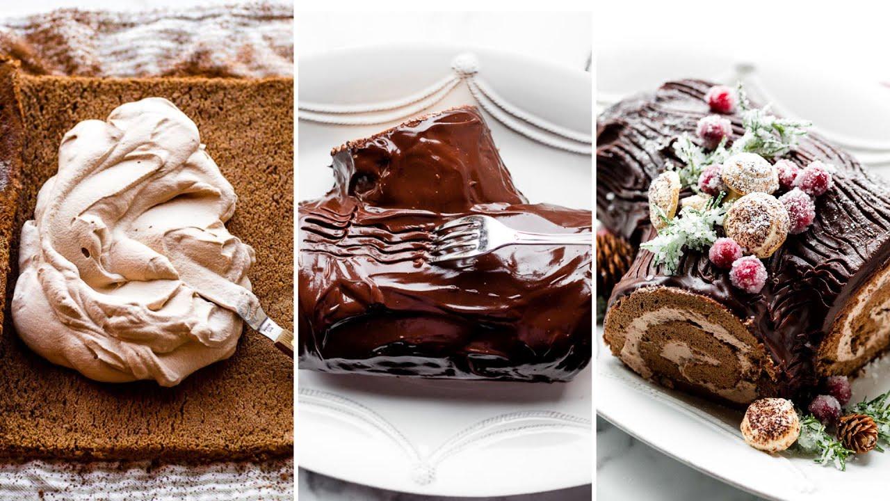 Yule Log Christmas Cake | Sally's Baking Addiction
