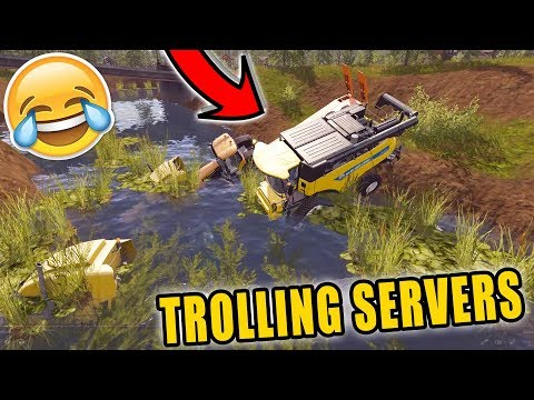 TROLLING THE SQUADS FARM | HE CHASES US | LONE OAK FARMS
