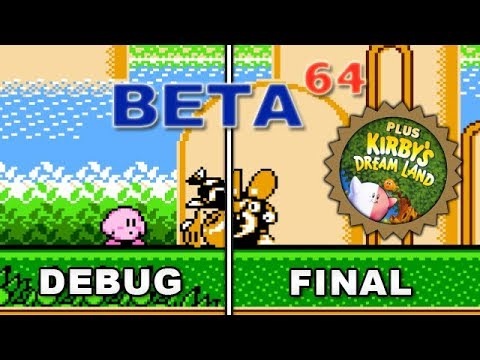 Beta64 - Kirby's Adventure & Kirby's Dream Land