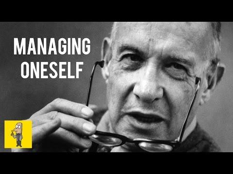 Managing Oneself - PETER DRUCKER | Animated Book Summary
