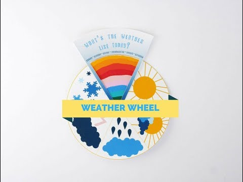 DIY Weather Wheel for Kids