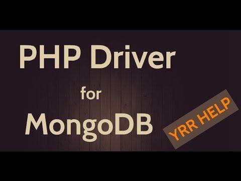 PHP Driver Setup for MongoDB