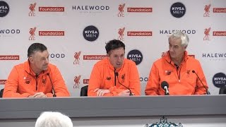 Liverpool 4-3 Real Madrid - Press Conference With Liverpool Legends Aldridge, Rush & Fowler