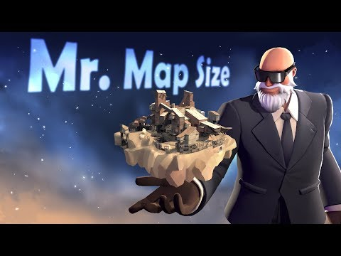 TF2 Maps (Actual Size)