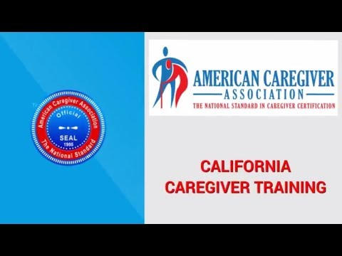 California Caregiver Training