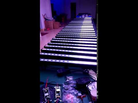 18x3w led wall washer
