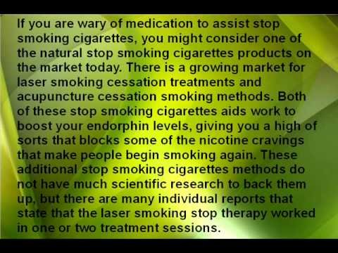 Find Help To Stop Smoking Cigarettes