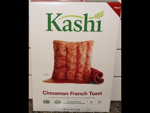 Kashi Cinnamon French Toast Cereal Review
