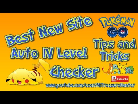 Ultimate Pokemon GO Auto IV Level Checker - Best there is - Must See