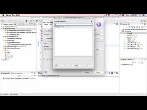 Spring Data Rest  Part 5  - Create the Employee Repository