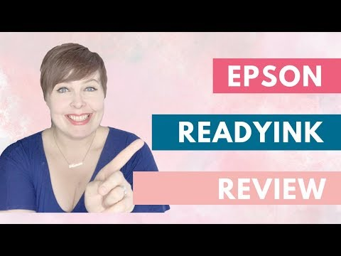 Epson ReadyInk #Review! This could change your life!