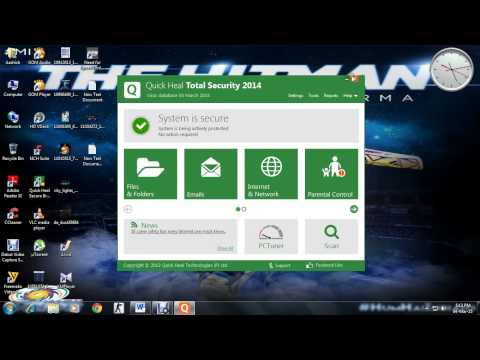 How To Blocked Web Sites In Quick Heal Total Security