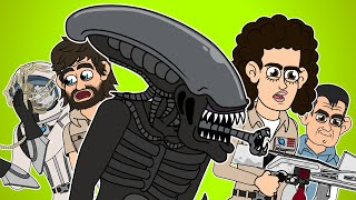 ♪ ALIEN THE MUSICAL - Animated Parody Song
