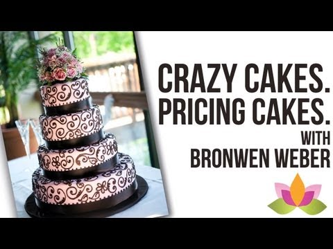 Craziest Cakes, Pricing Cakes, & Using Fondant - Interview with Bronwen Weber | Cake Business Tips