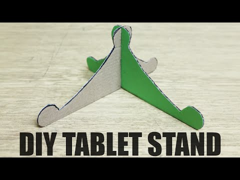 How to make a tablet stand - DIY tablet holder