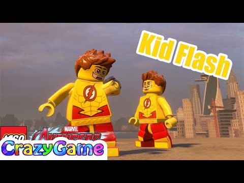 How to Make Kid Flash in LEGO Marvel's Avengers MOD