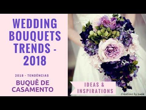 Wedding Bouquets Trends 2018 - Ideas and Inspirations - DIY - Tendências para buquês de noiva - 2018