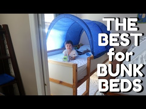 Setting Up His First Bed (feat. best products for bunk beds)