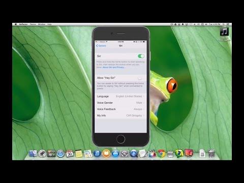 IPhone 6 How To Use Siri